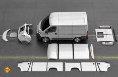 Mit einem kompletten Satz an Kunststoffteilen wird aus dem Citroën Jumper der schicke HY-Nachbau. (Foto: Typehy.eu)