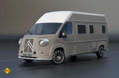 So soll nach Vorstellungen der Desogner ein Reisemobil auf Basis des neuen HY aussehen. (Foto: TypeHY.eu)