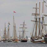 27. Hanse Sail: Weltgrößtes Traditionsseglertreffen auf der Ostsee