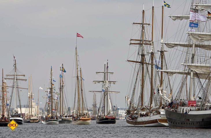 190 Schiffe und eine Million Besucher werden zur 27. Hanse Sail in Rostock erwartet. (Foto: Hanse Sail)