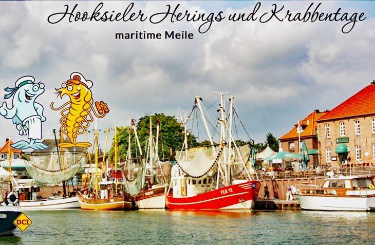Von 4. bis 6. August steht Hooksiel bei den Krabbentagen wieder ganz im Zeichen der Nordseekrabbe. (Foto: Krabbentage)