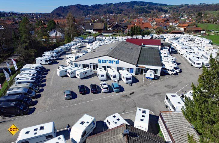 Neuzugang: Ab dem 1. September 2017 gehört Wohnwagen Gérard Europas größter Caravaning-Fachhandelskette an. (Foto: Intercaravaning)