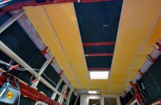 2. Schale der Dachisolierung mit XPS-Platten. (Foto: Klinke)
