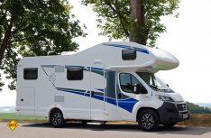 Die drei Alkovenmobile Live Traveller von Knaus sind für Familien und die Vermietung gedacht. (Foto: alf)