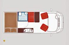 Grundriss La Strada Avanti L. (Grafik: Werk)