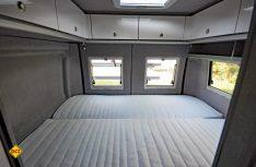 Paradestück des neuen Avanti L: Der Heckbereich mit dem vergrößerten Doppelbett. (Foto: det)