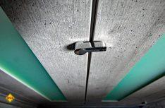 Die Klapptüren des Toilettenraumes sind jetzt mit einem schicken Verschluss gesichert. (Foto: det)