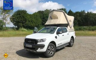 Zubehör-Profi Movera stellt auf dem Caravan Salon den Prototype eines innovativen Dachzeltes vor. (Foto: Movera)