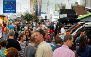 Bester Start aller Zeiten: Am ersten Wochenende besuchten über 70.000 Gäste den Caravan Salon 2017 in Düsseldorf. (Foto: Caravan Salon)