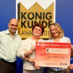Caravan Salon-Aussteller spenden 35.000,- Euro für Elterninitiative der Kinderkrebsklinik