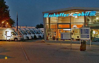 Der bekannte Händler Schaffer Mobil in Dreden bietet als erster Handelsbetrieb eine Umweltprämie beim Kauf eines Wohnmobils mit Euro 6-Motor. (Foto: Schaffer)