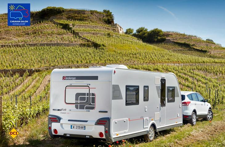 Mit der Baureihe Alizé Evasion bringt Sterckeman ein Luxuskonzept mit All-inklusive-Ausstattung in die Wohnwagen-Mittelklasse. (Foto: Werk)