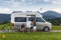 Mit dem aufwändig gestaltetem Hochdach hat der VW Califirnia XXL den gleichen cw-Wert wie das Basisfahrzeug. (Foto: Werk)