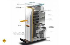 Eine geschickt konstruierte Nasszelle mit Dusche und WC ermöglicht mehr Komfort. (Foto: Werk)