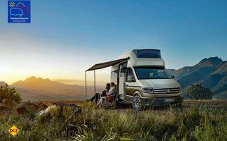 Mit der Studie Cailornia XXL stellt Volkswagen Nutzfahrzeuge ein werkseigenes Reisemobil auf Basis des VW Crafter vor. (Foto: Werk)