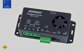 Die Votronic Lade-Wandler der VCC-Reihe beseitigen mit optimierten Lade-Kennlinien unter anderem die Ladeprobleme, die sich bei einigen Euro 6-Transportern ergeben haben. (Foto: Werk)