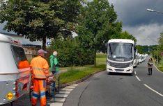 Akribische Vorbereitung: Alle Fahrzeuge, die zum Start rollten, wurden zweimal gecheckt. (Foto: det)