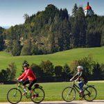 Auf Schusters Rappen oder schnellen Bikes durch das Allgäu