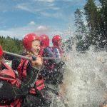 Schön, schnell und nass: Wildwasser-Rafting in Nordschweden