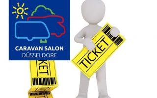 Tickets für den CaravanSalon gewinnen - hier mit dem DCI (Foto: tom/Montage)