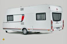 Auch für die Caravan-Einsteigerbaureihe Premio kann Bürstner Hubbettfahrzeuge anbieten. (Foto: Werk)