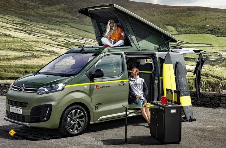 Mit der Studie SpaceTourer Rip Curl stellt Citroën einen echten Freizeit Van vor. (Foto: Werk)