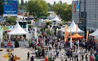 Mit neuen Rekordzahlen an Besuchern und Ausstellern und mit einer guten Branchenstimmung ist der Caravan Salon 2017 in Düsseldorf zu Ende gegangen. (Foto: Caravan Salon)