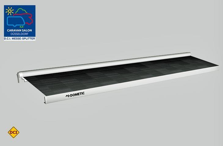 Neuer Anlauf: Mit der Perfectwall PW 3800 bringt Dometic eine wesentlich stärkere freitragende Markise auf den Markt. (Foto: Werk)
