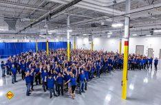 Die Erwin Hymer Group North America hat In Cambridge, Kanada jetzt das dritte Produktionswerk eröffnet. (Foto: Erwin Hymer Group)