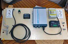 Erstellung und Einbau des Elektro-Panels. (Foto: Klinke)