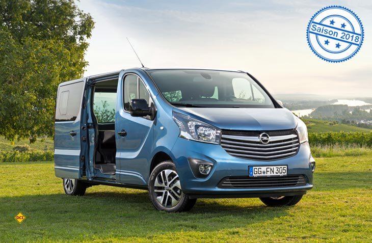Stylish, komfortabel, flexibel: Der neue Opel Vivaro Life ist der ideale Freizeit-Van mit Übernachtungsmöglichkeit. Er feiert in wenigen Tagen auf der IAA in Frankfurt Weltpremiere. (Foto: Werk)