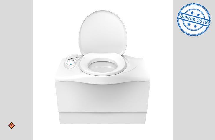 Sanitärmarktführer Thetford hat seine Bank-Cassetten-Toilette C 400 modernisiert und optimiert. (Foto: Werk)