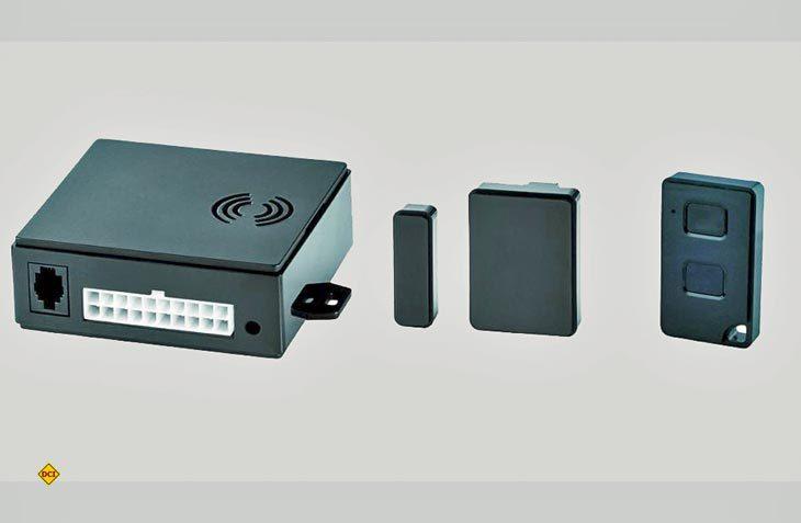 Mit der WiPro III safe.lock Funk-Alarmanlage von Thitronik können Replay-Attacken beim Fiat Ducato wirksam verhindert werden. (Foto: Thitronik)