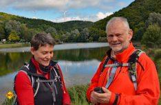 Ulrike Poller und Wolfgang Todt sind Mitglieder im Deutschen Wanderinstitut, begutachten und zertifizieren Wanderwege. (Foto: Tour-Tipp.net)