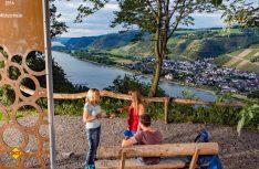 Traumpfädchen bietet die besten Spazierwanderungen an Rhein, Mosel und in der Eifel an. Hier Kleiner Stern-Weinsicht am Mittelrhein. (Foto: tourtipp.net/Remet)