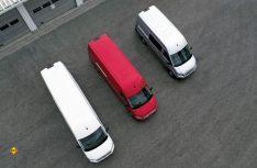 Der VW Crafter als Kastenwagen wird mit drei Gesamtlängen (5,9, 6,8 und 7,4 Meter) sowie drei Dachhöhen (2,3, 2,6 und 2,8 Meter) angeboten. (Foto: Werk)
