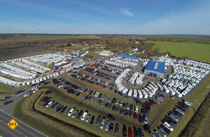 Caravan-Wendt in Kremmin ist zweitgrößter Caravaning-Händler in Deutschland und lädt wieder zum traditionellen Saisonstart ein. (Foto: Caravan-Wendt)