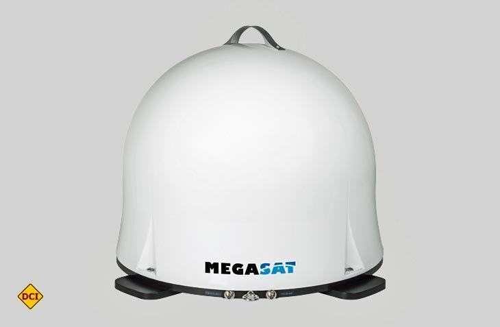 Die zweite Generation der Megasat Satanlage Campingman Portabel ist leichter und kompkater geworden. (Foto: Werk)
