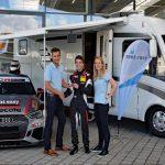 Wohnmobilvermietung rent easy steigt ins Sportsponsoring ein mit Sandro Kaibach