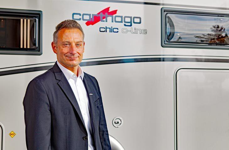 Alexander Wehrmann ist neuer Pressesprecher der Marken Carthago und Malibu. (Foto: Carthago)