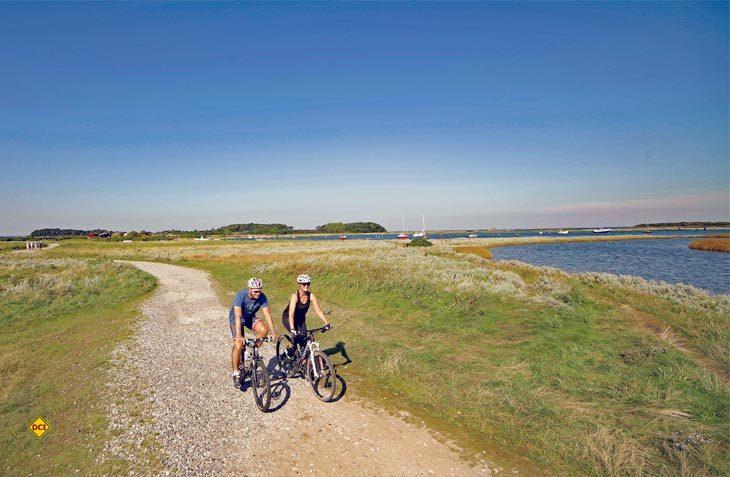 1.200 Kilometer Radwege erschließen die dänische Ostseeinsel Fünen für Aktivurlauber und Freunde der mobilen Freizeit. (Foto: visitdenmark)