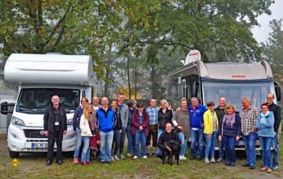 Lobenswerte Pionierarbeit: Dethleffs hat speziell für Neulinge der Urlaubsform Caravaning einen erfolgreichen Einsteiger-Event veranstaltet. (Foto: Dethleffs)