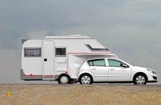 Die ungewöhnliche Kombination des Car-Camp garantiert eine überall hohe Aufmerksamkeit. (Foto: det)