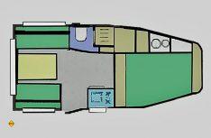 Grundriss Heku Car-Camp 2. (Grafik: Werk)