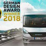 Internationale Auszeichnung für das Hymermobil Exsis-i