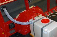Der Frischwassertank mit Einfüllrohr. (Foto: Klinke)