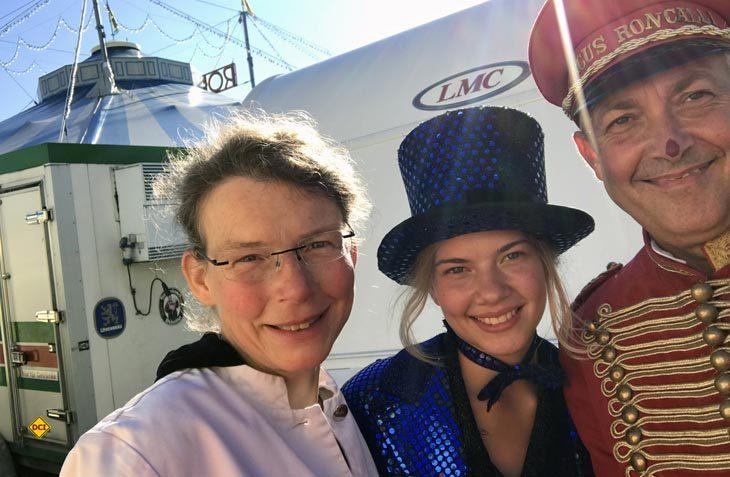 Die Familie Dittrich aus Neuhausen konnte als glückliche Gewinner des LMC-Gewinnspiels drei Tage hinter die KUlissen des bekannten Circus Roncalli blicken. (Foto: LMC)