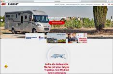 Der italienische Hersteller Laika hat seinen Webauftritt modernisiert und informativer gestaltet. (Foto: Laika)