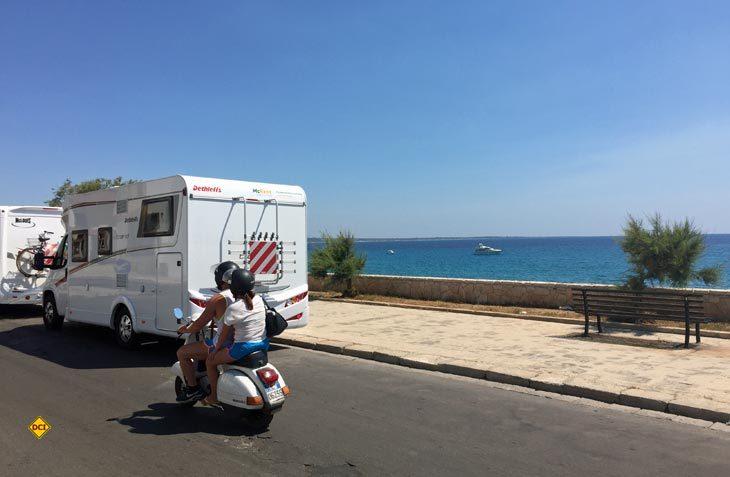 Der Reisemobilvermieter McRent öffnet auf Sardinien und Sizilien zwei neue Mietstationen. (Foto: McRent / Christiane Warnecke)