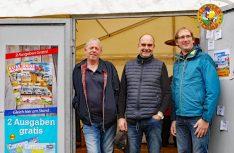 Das Orga-Team aus Stuttgart von links: Rainer Schneekloth Claus_geord Petri und Mathias Piontek. (Foto: det)